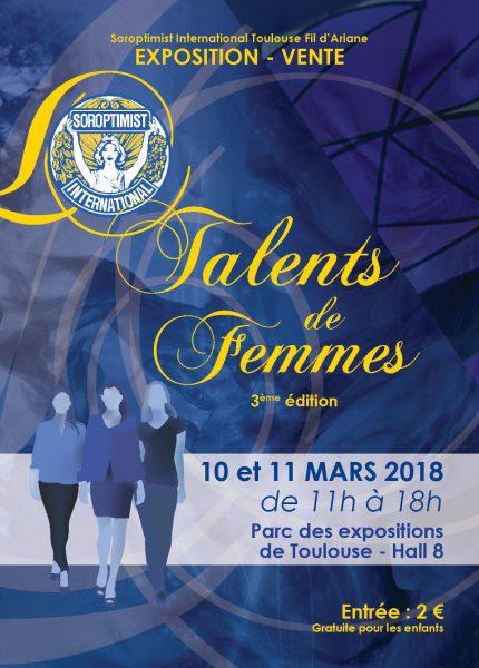 AMME - Exposition Talents de femmes Toulouse