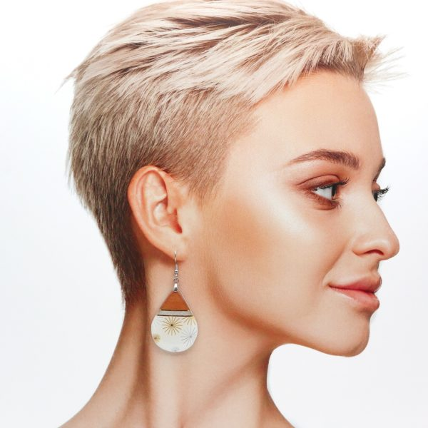 Boucles d'oreilles Alya