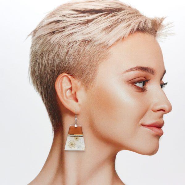 Boucles d'oreilles Galina
