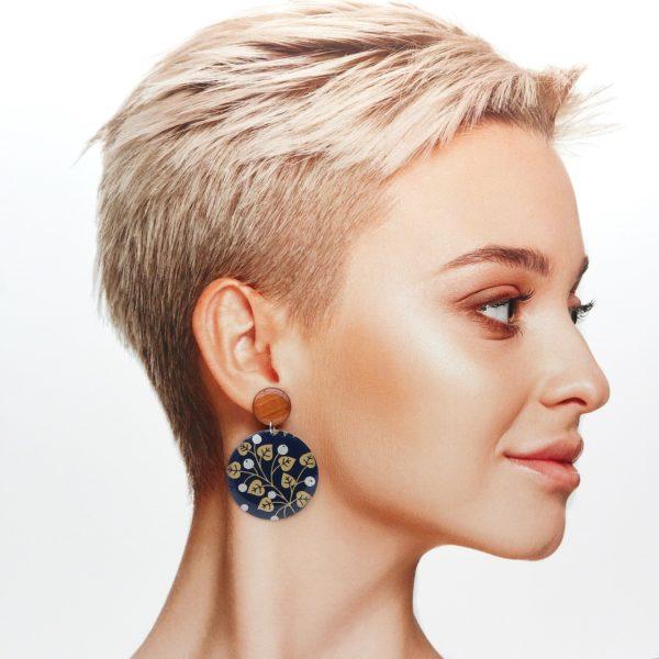Boucles d'oreilles Aline