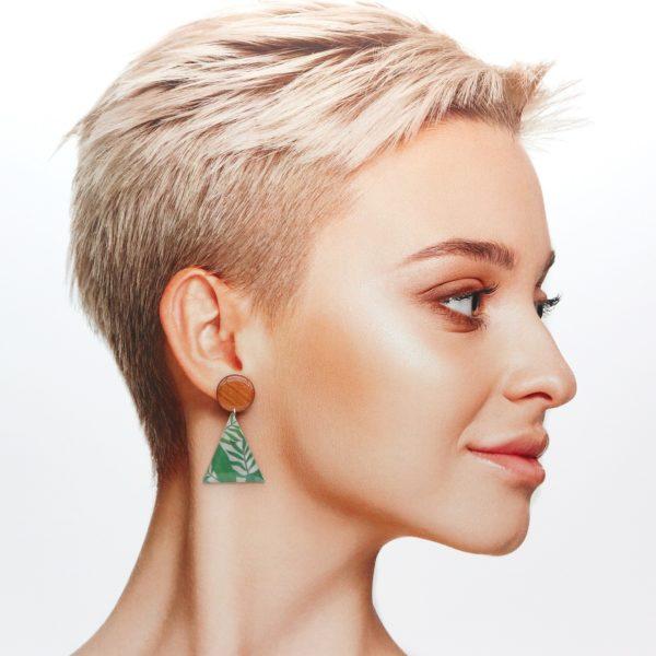 Boucles d'oreilles Célestine