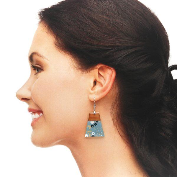 Boucles d'oreilles Maëlle