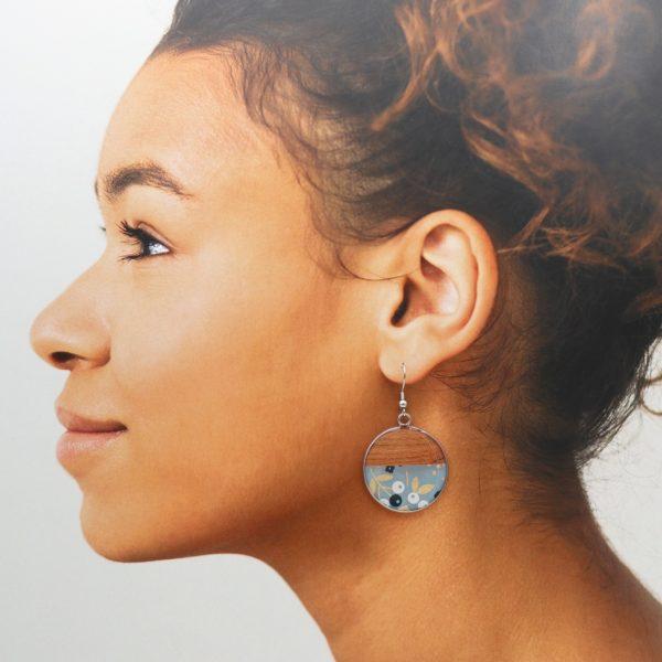 Boucles d'oreilles Mélisande