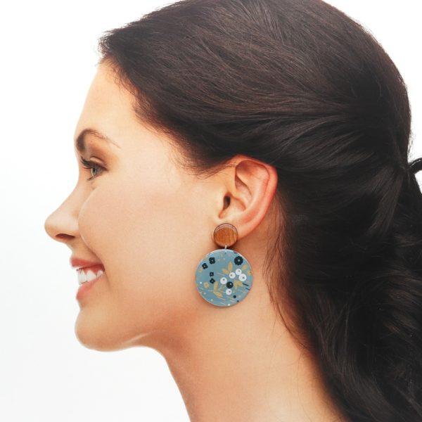 Boucles d'oreilles Sibylle