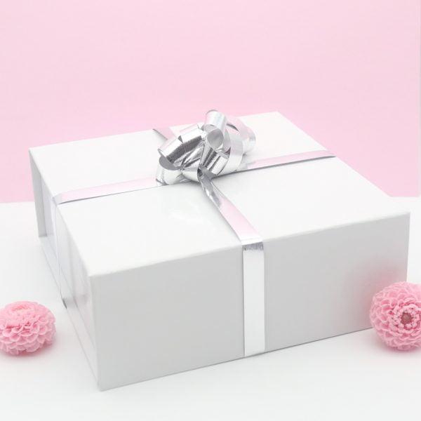 Coffret cadeau dahlia rose 2