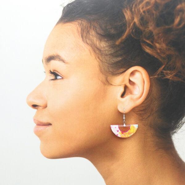 Boucles d'oreilles Eleonore
