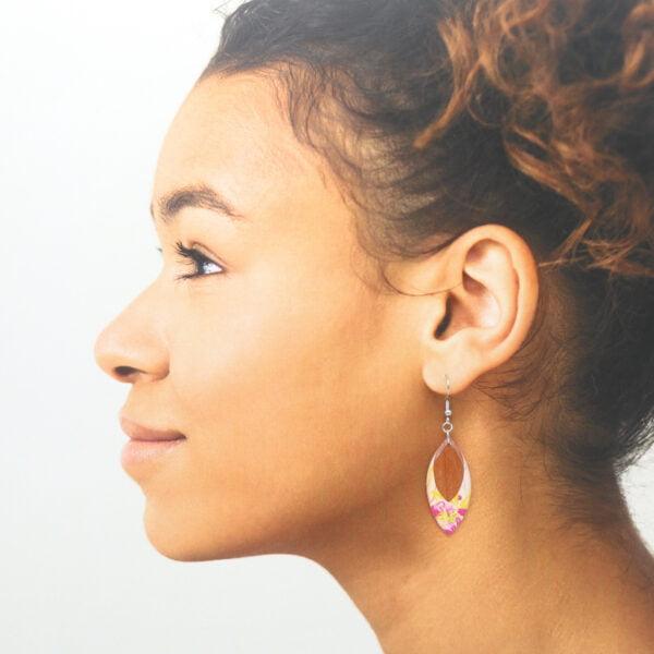 Boucles d'oreilles Eloïse