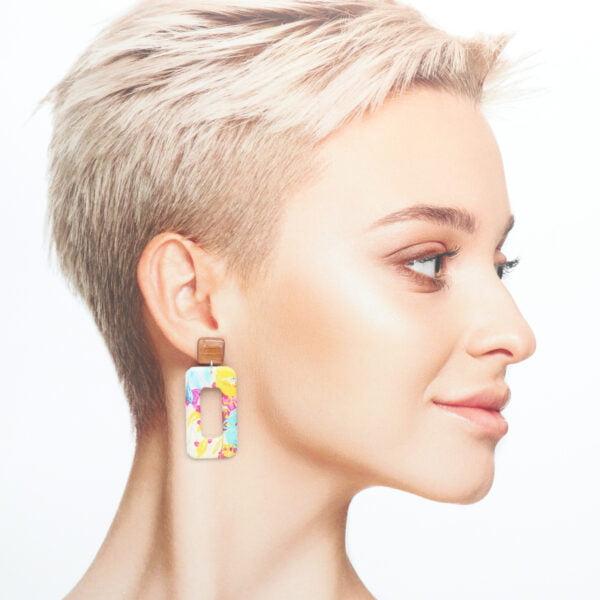 Boucles d'oreilles Enola