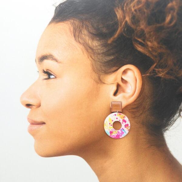 Boucles d'oreilles Enza