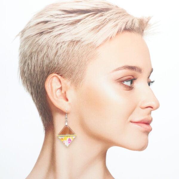 Boucles d'oreilles Florette