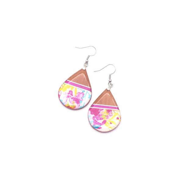 Boucles d'oreilles Floriane