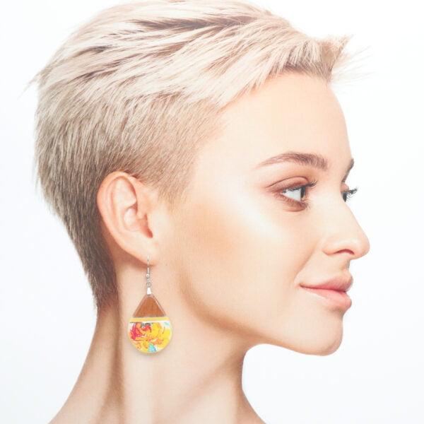 Boucles d'oreilles Isadora