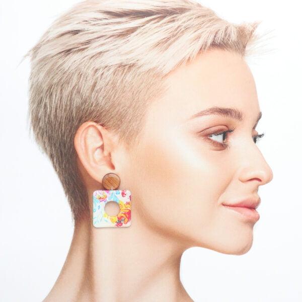Boucles d'oreilles Maureen